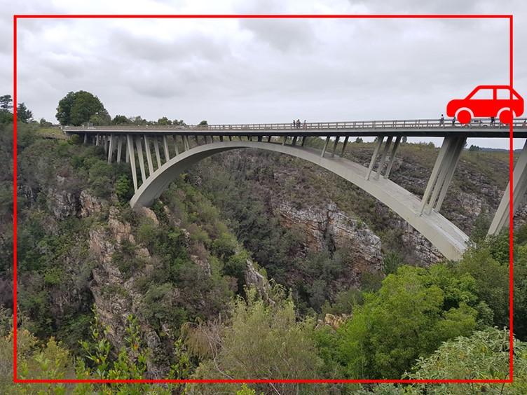 Travelling over bridges