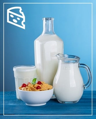 Dairy is one of a number of foods that people develop intolerance against.