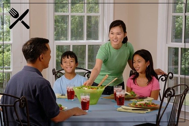 Meals should be one of the highlights of a family's day.